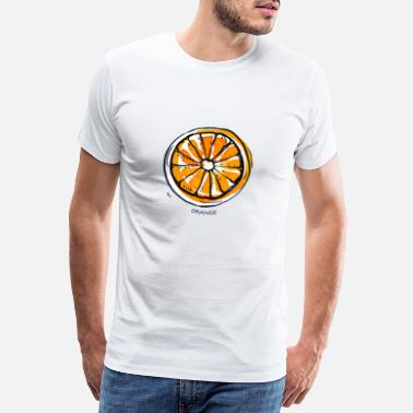 Fruit Fruit de fruit orange Fruit - T-shirt premium Homme