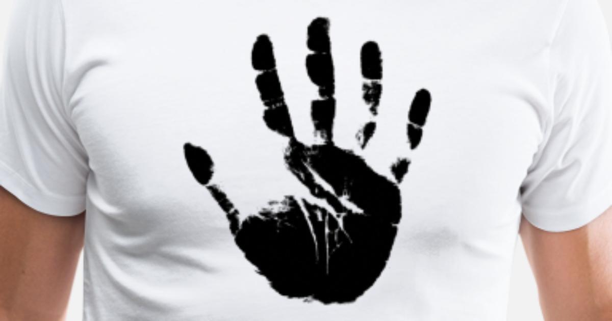 hand ,handabdruck von haukepauke | Spreadshirt