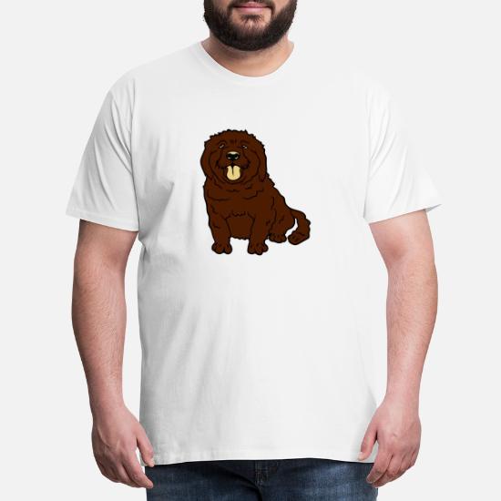 Liten hund Premium T skjorte for menn | Spreadshirt