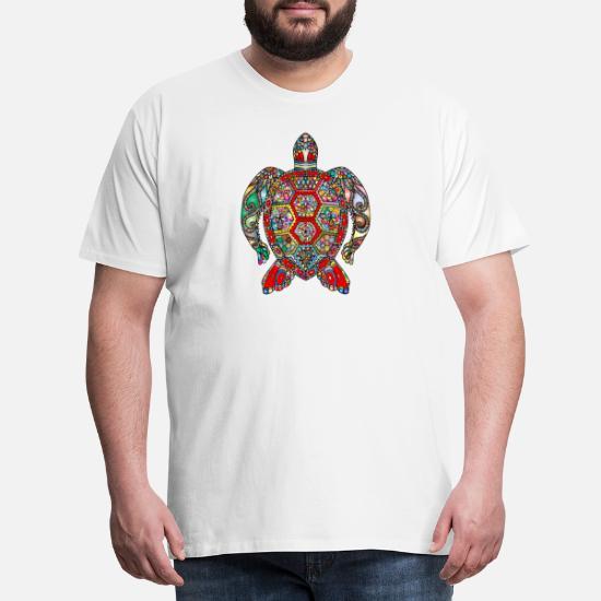 d6736c95d Tortuga Camisetas - animal animales tortuga de mar de tortugas marinas -  Camiseta premium hombre blanco