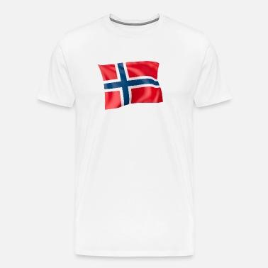 Norge norske flagg ord T skjorte | Fruugo NO