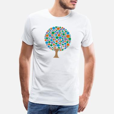 Elli Ellis's tree - Men's Premium T-Shirt