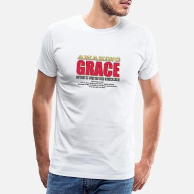 Bible Scripture GRACE - Men's Premium T-Shirt