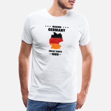 Black Country Making Germany great since 1989 Gift - Men's Premium T-Shirt