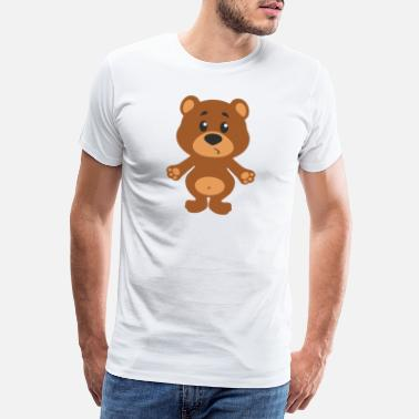 Play Cute bear - Men's Premium T-Shirt
