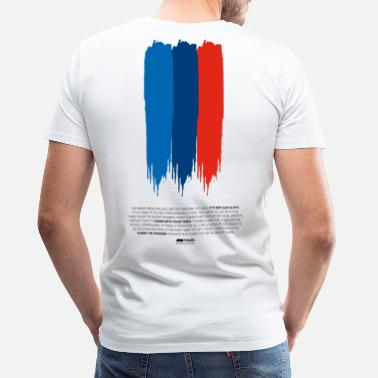 BMW M Town Small Brush - Männer Premium T-Shirt