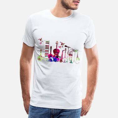 Experimental música pop rock jazz dance - Camiseta premium hombre