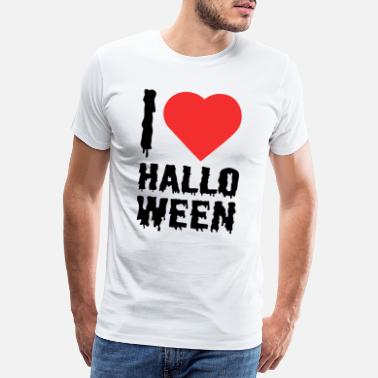 Trick Or Treat I love halloween funny gift gift idea - Men's Premium T-Shirt