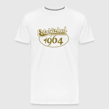 Birthday-Shirt - Geburtstag - Established 1964 (fr) - T-shirt Premium Homme
