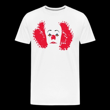 Evil clown IT - Men's Premium T-Shirt