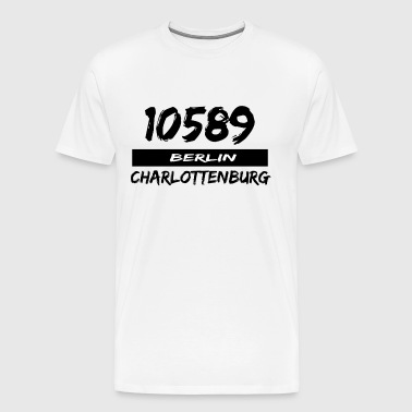 10589 Berlin Charlottenburg - Men's Premium T-Shirt