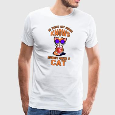 Cool cat - Men's Premium T-Shirt