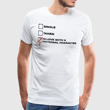 Funny checkbox fictional character gift idea - Men's Premium T-Shirt