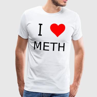 I love meth - Men's Premium T-Shirt