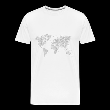 The World - Männer Premium T-Shirt