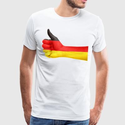 GERMANIA THUMBS T-SHIRT - Maglietta Premium da uomo