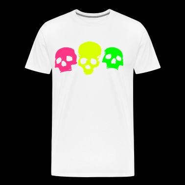 skulls-on-parade - Herre premium T-shirt