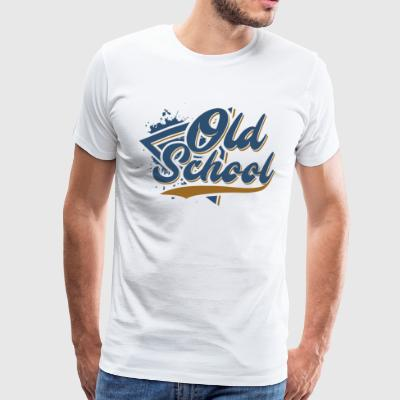 Old School - T-shirt Premium Homme
