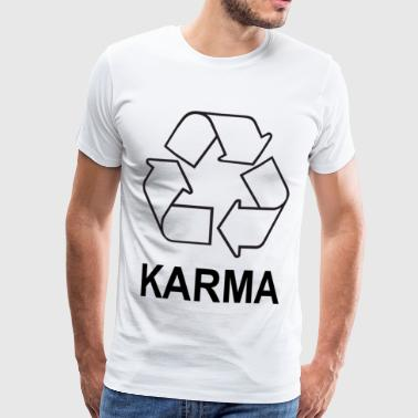 karma - Men's Premium T-Shirt