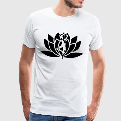 YOGA POSITIVE LIFE COLLECTION - Männer Premium T-Shirt