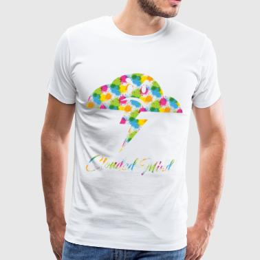 CM1-SPLASH - Premium-T-shirt herr
