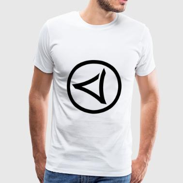 LOGO-VIRUS-RECORDS-IN-CYCLE - Men's Premium T-Shirt