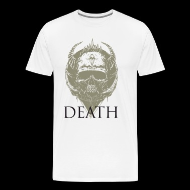 skull death lluminati metal music bright wiking LOL - Men's Premium T-Shirt