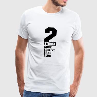 Texte 2 traits - T-shirt Premium Homme