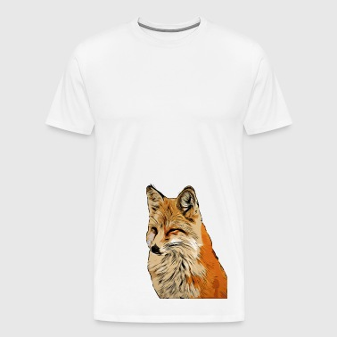 Fox Comic Style - Men's Premium T-Shirt