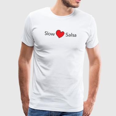 Slow Salsa - on DanceShirts - Men's Premium T-Shirt