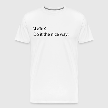 latex - Men's Premium T-Shirt