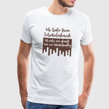 T-shirt chocolate side jello - Mannen Premium T-shirt