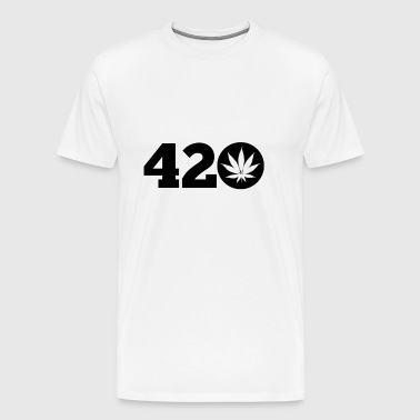 420 weed cannabis - Men's Premium T-Shirt
