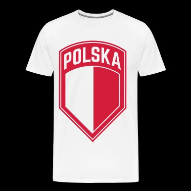POLSKA-POLAND - Men's Premium T-Shirt
