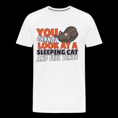 cats sleep - Men's Premium T-Shirt