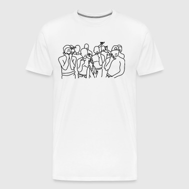 comic gang - Men's Premium T-Shirt