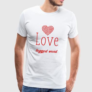 love of animals - Men's Premium T-Shirt
