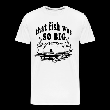 FISHING ANGEL FISH FISHERMAN FISHING T-SHIRT - Premium T-skjorte for menn