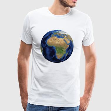 world - T-shirt Premium Homme