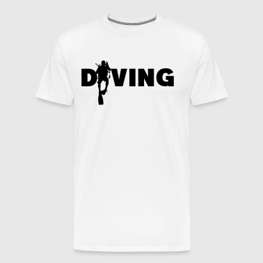 Diving - T-shirt Premium Homme