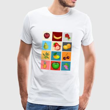 fruits - Männer Premium T-Shirt
