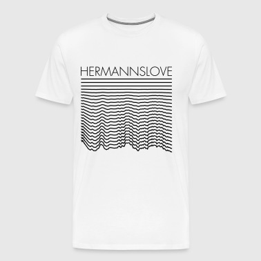 HERMANN LOVE - Mannen Premium T-shirt