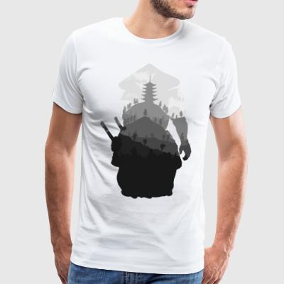 Way of the Samurai - Mannen Premium T-shirt