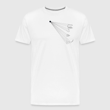 low poly - Men's Premium T-Shirt