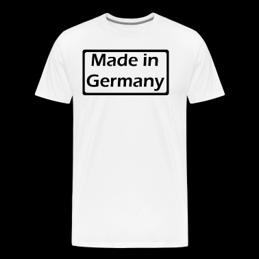 Made in Germany - Premium T-skjorte for menn