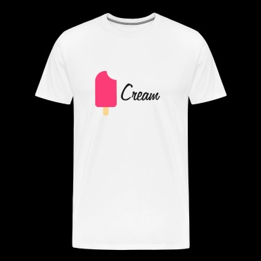 Ice Cream Ice Cream Black - Premium T-skjorte for menn