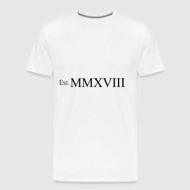 Established in MMXVIII - Men's Premium T-Shirt