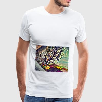 Street Art Gap - Men's Premium T-Shirt