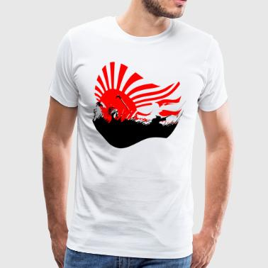 Samurai art - Men's Premium T-Shirt
