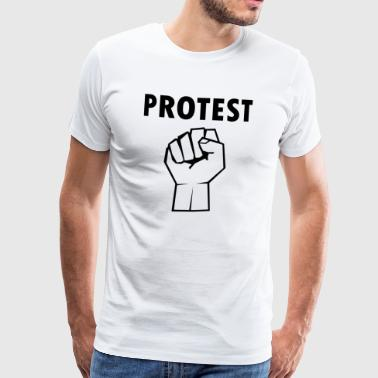 Protest2 - Men's Premium T-Shirt